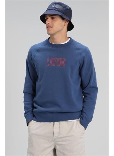 Lufian North Sweatshirt Mercan Lacivert